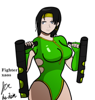 Black Orchid commish by fighterxaos