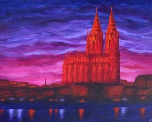 Cologne Cathedral by violetice