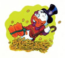 U for Uncle Scrooge by oh-the-humanatee
