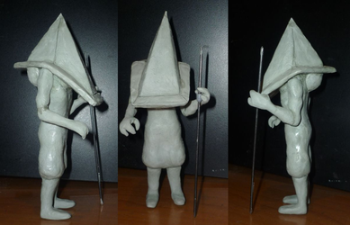 Pyramid Head not finished ver2 by Pandora2109