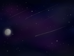 Starry Night (Background Practice #2) by quelity18