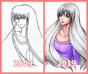 Draw this again: 10 years later by Alice-Pandora