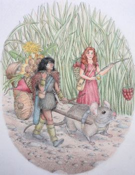 Arrietty and Spiller by JAMiAm100