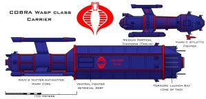 COBRA Wasp class Carrier by Imperator-Zor