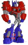 Animated Optimus Prime-Fall of Cybertron