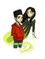 Paranorman- Norman and Agatha by AbyssRiot