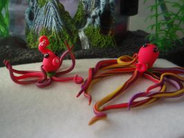 Silly Octopuses by Elliesmeria