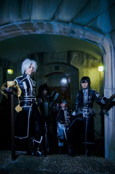 D.Gray-Man: The Black Order Headquarters by silverharmony