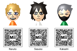 Naruto Mii Collection by theST1NG