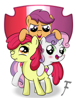 Cutie Mark Crusaders Forever by FluffleLord