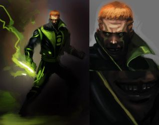 guy gardner redesign wip 2 by unded