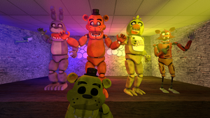 Five nights at Freddy's by Elsa-Shadow