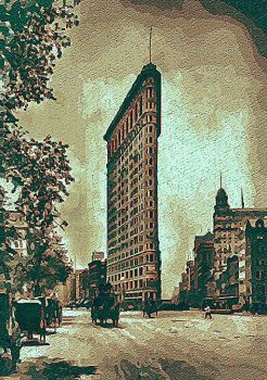 The Flatiron Building by peterpicture