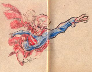 2017 supergirl by mistermoster