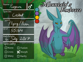 Purppura (lvl 100) [PKMNation] by Vampuuri