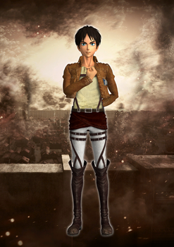 Eren Yeager XPS download by Chaotixninjax