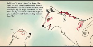 Amaterasu's a terrible mother. by mother-child