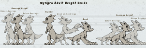 Adult Height Guide by Wyngrew