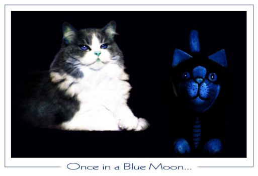 Once in a Blue Moon... by Bluehand