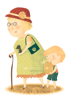 Helping granny by mairimart