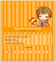 Journal skin: Spanish version by Ashley44598X