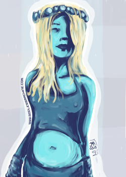 bluegirl by godlessmachine