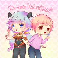 Be Our Valentine by ZehRoyal