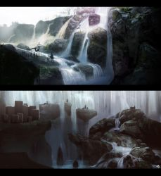 Waterfalls by Trudsss