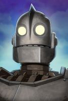 The Iron Giant by Soliduskim