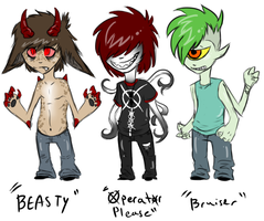 Monster Adopts CLOSED by InfectedZombieX