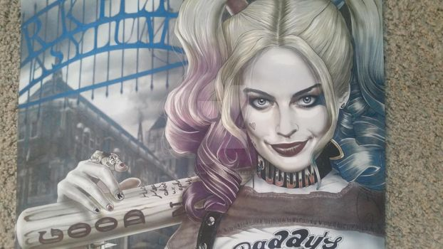 Harley Fully colored by corysmithart