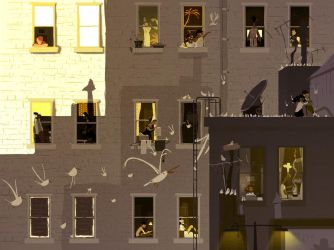 Rear Window by PascalCampion