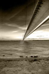 Humber Bridge HDR by digivine