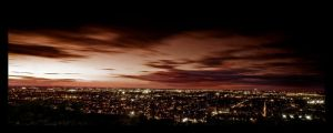 Montreal Sunset by biroo87