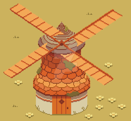 Windmill by LaundryPile