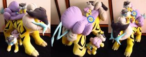 new york's giant raikou plush