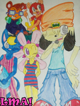 Belated PaRappa 17th Anniversary! by LittleMissAly
