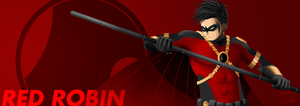 Red Robin by amateurartworker