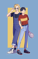 Banana Fish Boys by 703ww