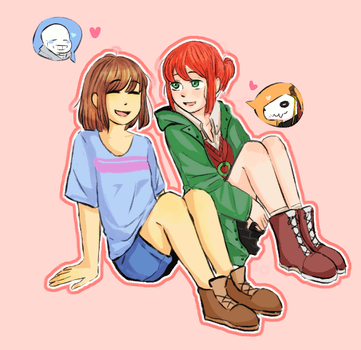 Frisk and Chise by Rimoussitta