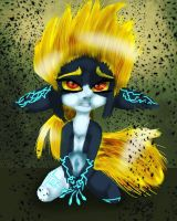 Midna Zelda Twilight Princess by moondaneka