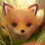 A Little Fox by cursedapple
