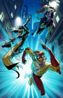 Young Justice by Hominids