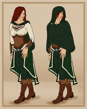 Middle Earth Endurance Trail: Maeva's Clothes by Auldale
