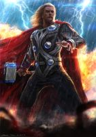 Thor - Avengers by johnsonting