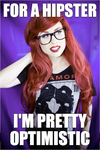 Hipster Mermaid Loves Paramore! by TheRealLittleMermaid