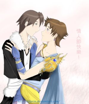 Squall x Bartz - Today I fell in Love by LiFurin