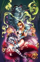Almost Alice by kcspaghetti
