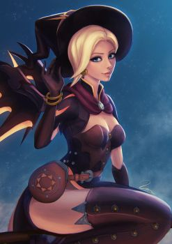 Halloween Mercy by umigraphics