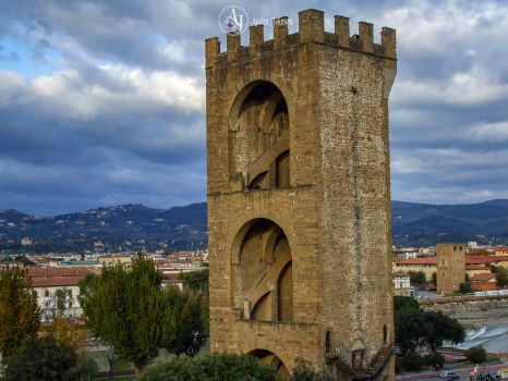 Tower in Florence, Italy by adenisej25
